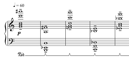 Advent Sketches : III ; score excerpt