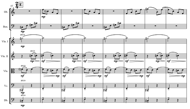 Concerto for Two Double Reeds IV: Rondo, first episode