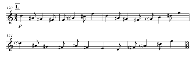 Oboe theme of Episode III