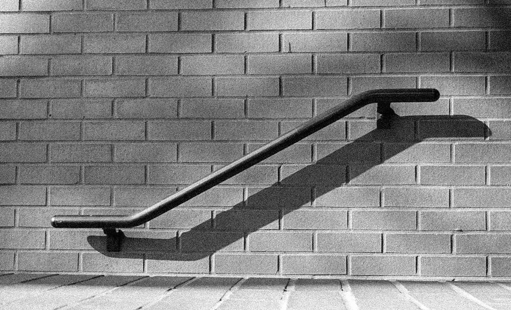 Handrail and shadow